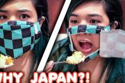 海外「日本がなければどんなにつまらない世界になるんだか」日本で売ってるユニークなマスクを紹介に驚き!