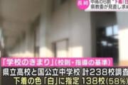 【韓国の反応】「白い下着だけ着なさい」長崎市の中学·高校の下着検閲問題に韓国の反応「韓国のほとんどの悪習が日帝から始まった。」