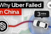 Uberが中国で失敗した理由 海外の反応
