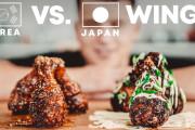 海外の料理YouTuber「和風と韓国風のフライドチキン作って食べ比べてみた!」
