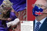 海外「オーストラリアが中国に謝罪を求める。中国外務省が豪兵士が子供を脅す偽の写真を投稿」