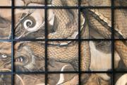 外国人「日本は私の心を盗んだ!」 「日本一周した時に目撃した神社の見事な天井画をご覧ください」 海外の反応