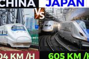 海外「これは伝説のバトルだな…」日本と中国の鉄道を比較した動画に注目!