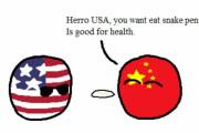 【アメリカ】変な食べ物【ポーランドボール】