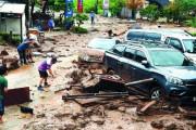 韓国人「大日本帝国ありがとう!」韓国に300㎜水爆弾、日帝時代の排水施設論もお手上げで洪水被害! 韓国の反応