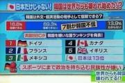 """韓国人「日本のテレビで実際に放送された""""韓国が嫌いな国""""ランキングをご覧ください‥」堂々の嫌韓国1位はあの国‥ 韓国の反応"""
