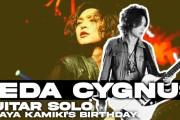 【海外】神バンドLedaの上木彩矢「Birthday Live」でのギターソロ