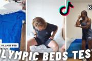 海外「開催国に失礼では…?」アスリートたちが続々投稿していた東京五輪選手村「ベッドテスト動画」が話題