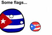 【世界】世界の似た国旗【ポーランドボール】