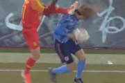 日本人選手の頭を蹴った中国人選手の言い分に海外びっくり仰天!(海外の反応)