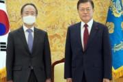 【韓国の反応】日本大使に接見した文氏「隣人である日韓両国、関係の早期修復を」