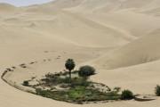 韓国人「砂漠にある水源地を知らせてくれるアイデアがすごい」
