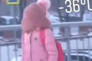 ロシアで生きる子どもたちはつらすぎる。-36℃の極寒で笑顔もなく通学する子どもたち。海外の反応