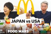 海外視聴者「日本の食べたい!」「パッケージすごい!」日本とアメリカのマクドナルドメニューを徹底比較!?