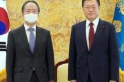 韓国を離れる駐韓日本大使に文在寅「日本が最も重要」…態度が軟化した本当の理由=韓国の反応