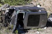 【悲報】タイガー·ウッズが事故った車が韓国製自動車だった事が判明‥ジェネシスGV80を運転中に転落事故 韓国の反応