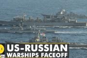 海外「これは危険か!?」「よくあることでは…?」日本海で訓練中のロシア軍艦が接近した米軍艦に警告