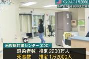 アメリカ「流行のインフルエンザが実はコロナウイルスかもしれん…」
