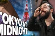 海外「こんな時間なのに…!」真夜中の東京タワー周辺散策動画に驚き!