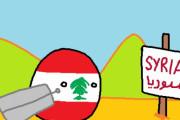 【レバノン】難民だよ【ポーランドボール】